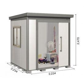 ヨドコウ DZB/ヨド蔵MD DZB-2222HW 物置 一般型  『追加金額で工事も可能』 『断熱タイプの屋外用 中型・大型物置』 サンドグレージュ