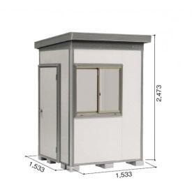 ヨドコウ DZB/ヨド蔵MD DZBU-1515HE 物置 豪雪型  『追加金額で工事も可能』 『断熱タイプの屋外用 中型・大型物置』 サンドグレージュ