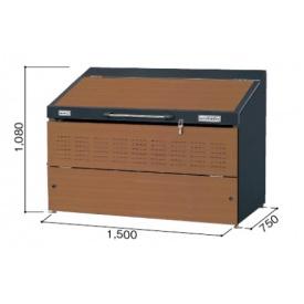 ヨドコウ ダストピット DPSA-800 『ゴミ袋(45L)集積目安 18袋、世帯数目安 9世帯』 『追加金額で工事も可能』 『ダストボックス ゴミステーション 屋外』