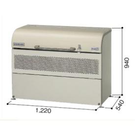 ヨドコウ ダストピット DPUB-500 『ゴミ袋(45L)集積目安 11袋、世帯数目安 5世帯』 『ダストボックス ゴミステーション 屋外』