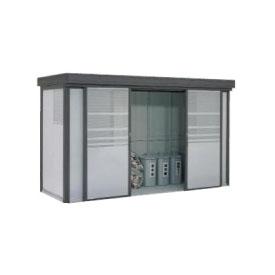 ヨドコウ ダストピット DPF-3713 35世帯用 (受注生産商品) 『ゴミ収集庫』『ダストボックス ゴミステーション 屋外』