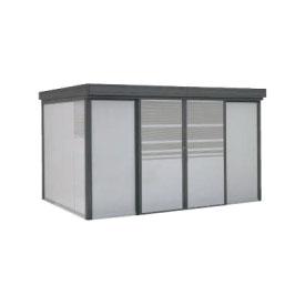 ヨドコウ ダストピット DPFS-3725 70世帯用 (受注生産商品) 『ゴミ収集庫』『ダストボックス ゴミステーション 屋外』