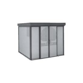 ヨドコウ ダストピット DPFWS-2525 45世帯用 (受注生産商品) 『ゴミ収集庫』『ダストボックス ゴミステーション 屋外』