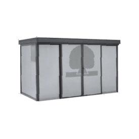 ヨドコウ ダストピット DPFWS-3719 55世帯用 (受注生産商品) 『ゴミ収集庫』『ダストボックス ゴミステーション 屋外』