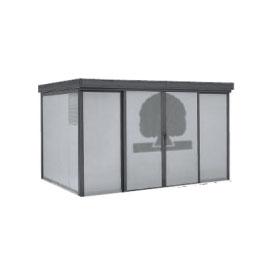 ヨドコウ ダストピット DPFWS-3725 70世帯用 (受注生産商品) 『ゴミ収集庫』『ダストボックス ゴミステーション 屋外』