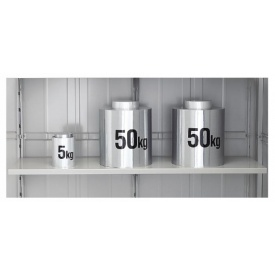 セール特別価格 ヨドコウ オプション サビに強い ヨド物置 エルモ LMCにも使えます LMD 用 贈答 別売棚 A2.0型