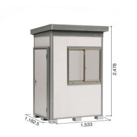 ヨドコウ DZB/ヨド蔵MD DZB-1511HW 物置 一般型 結露低減材付タイプ 『追加金額で工事も可能』 『断熱タイプの屋外用 中型・大型物置』 サンドグレージュ