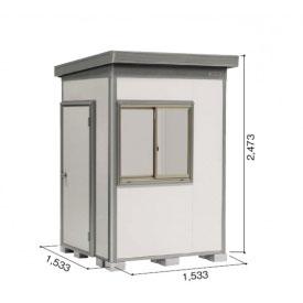 ヨドコウ DZB/ヨド蔵MD DZB-1515HW 物置 一般型 結露低減材付タイプ 『追加金額で工事も可能』 『断熱タイプの屋外用 中型・大型物置』 サンドグレージュ