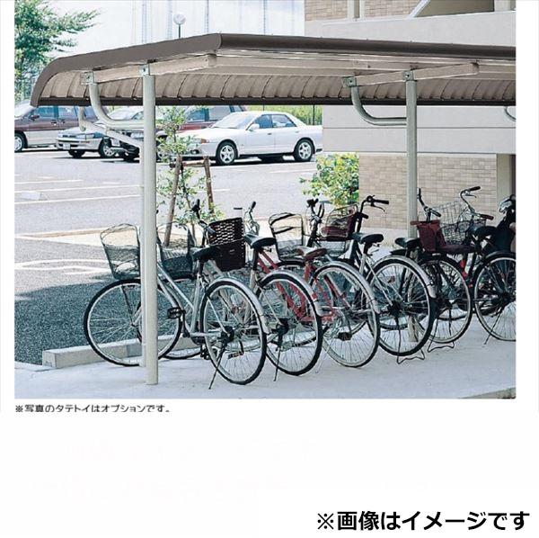 自転車置き場 ヨド物置 YOTR-280 追加棟(追加棟施工には基本棟の別途購入が必要です) 『公共用 サイクルポート 屋根』 グレーベージュ