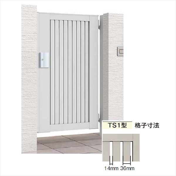 リクシル 開き門扉AB TS1型 10-16 片開き 柱仕様