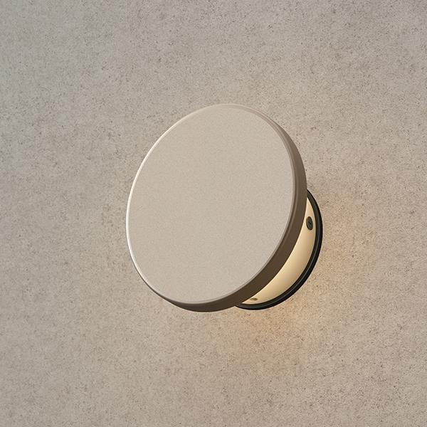 タカショー エバーアート ウォールライト(ローボルト)1型 HBA-D21G #75406900 『ローボルトライト』 『エクステリア照明 ライト』 グレイッシュゴールド