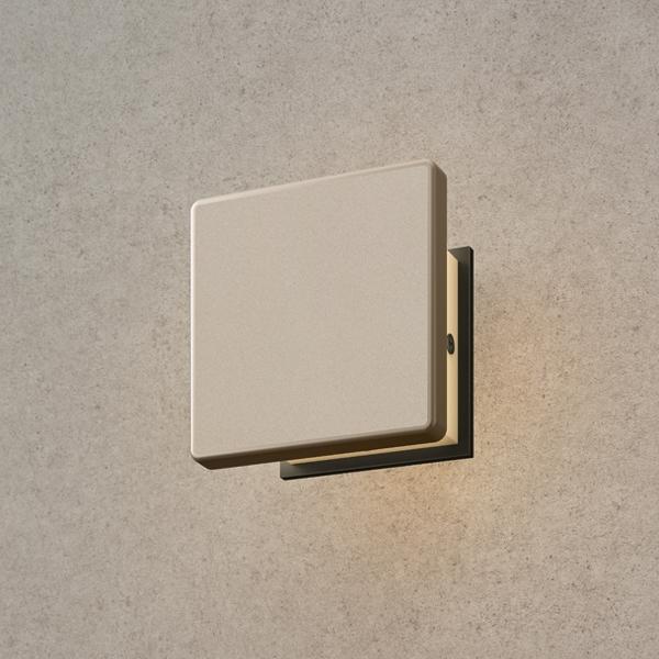 タカショー エバーアート ウォールライト(100V)2型 HFB-D25G #75503500 『エクステリア照明 ライト』 グレイッシュゴールド
