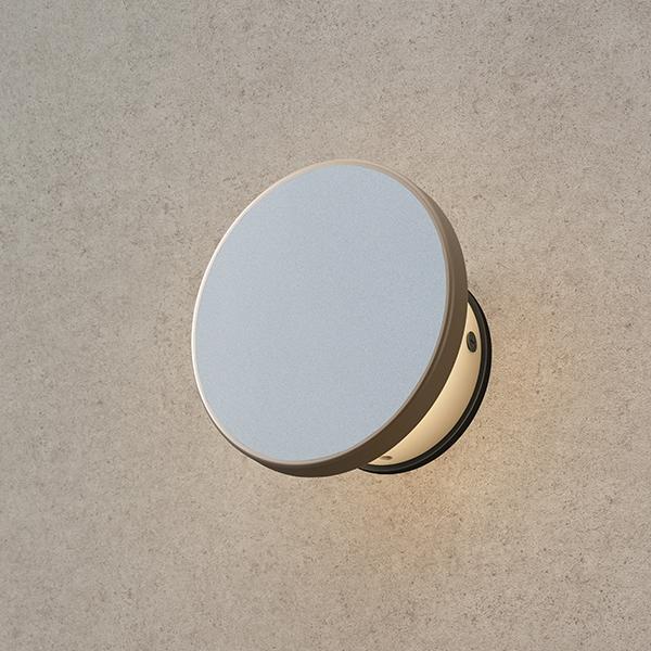 タカショー エバーアート ウォールライト(100V)1型 HFB-D24G #75501100 『エクステリア照明 ライト』 グレイッシュゴールド