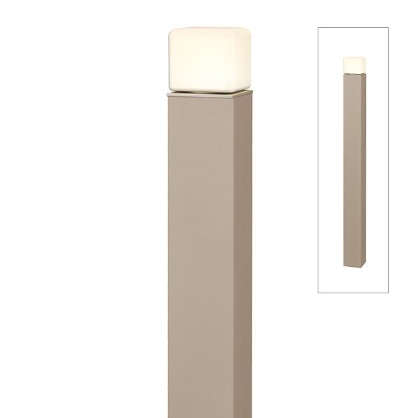 タカショー ポールライト(100V) エバーアートポールライト 2型 HFD-D73G #75549300 『エクステリア照明 ライト』 グレイッシュゴールド