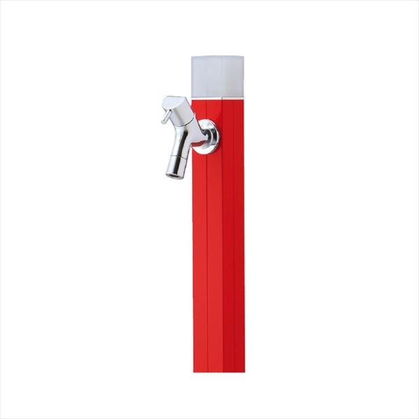 オンリーワン 不凍水栓柱 アイスルージュ 1.5m TK3-DK5R ブライトレッド 『水栓柱・立水栓セット(蛇口付き)』 ブライトレッド