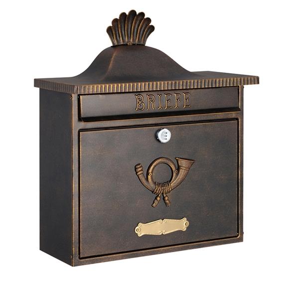 オンリーワン ハイビポスト クラシカルタイプ クラシカルポストXA ダイヤル錠 MA1-64056002D 『郵便ポスト』 ラスティブラウン