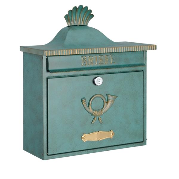 オンリーワン ハイビポスト クラシカルタイプ クラシカルポストXA ダイヤル錠 MA1-64056014D 『郵便ポスト』 グリーン/ゴールド