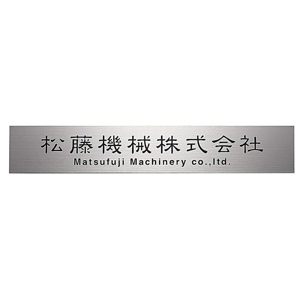 福彫 業務用サイン チタンドライエッチング館銘板 TIZ-3 『表札 サイン 戸建』