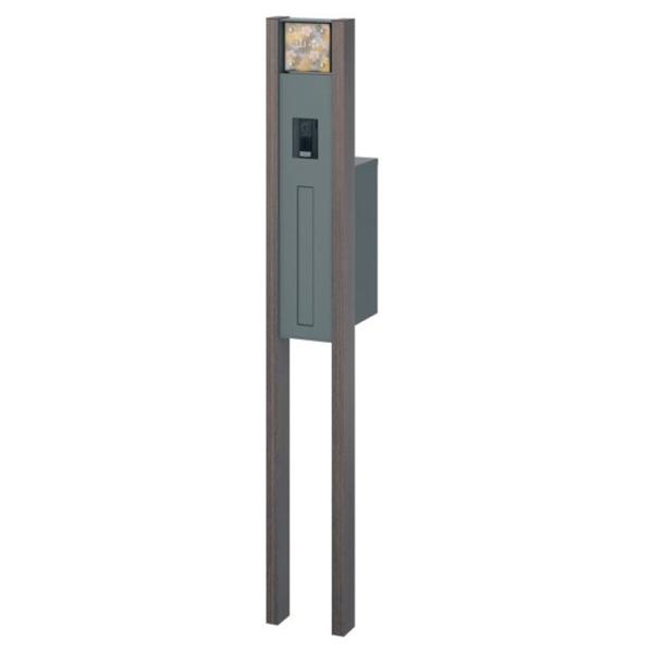三協アルミ  マクリズム  機能ユニット  組合せセットG   ビターグレイン 『機能門柱 機能ポール』