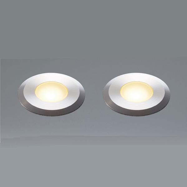 ユニソン エコルトグランドライト 2個セット 12V照明 EB 11006 62 『エクステリア照明 ローボルトライト』