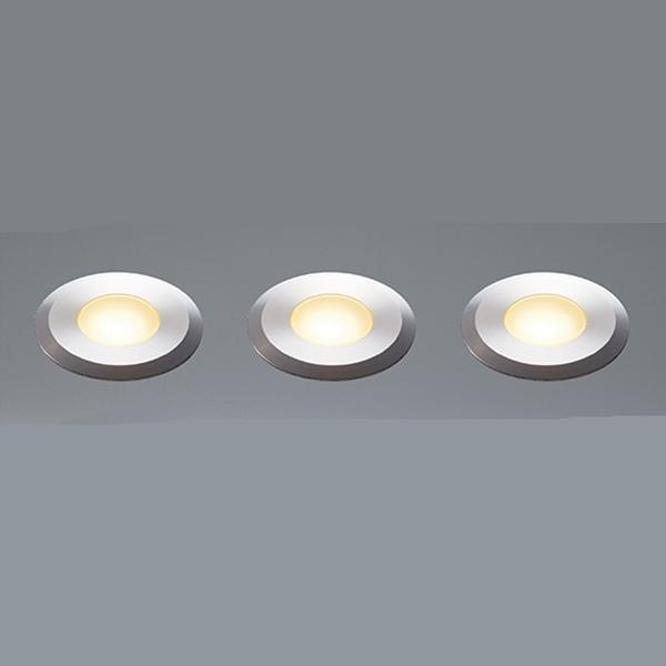 ユニソン エコルトグランドライト 3個セット 12V照明 EB 11004 62 『エクステリア照明 ローボルトライト』