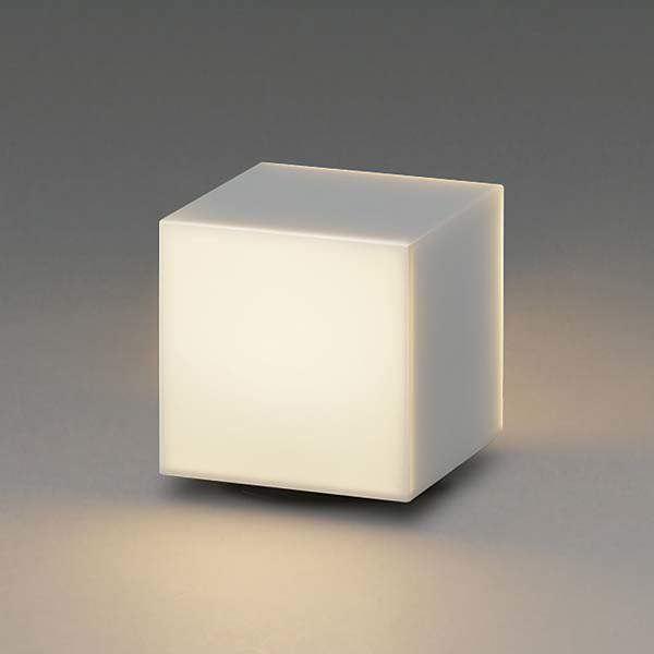 コイズミ arkia ブラケットライト AU47873L+AE47876E 門柱タイプ+天面遮光セード 『ブラケットライト エクステリア照明 ライト』