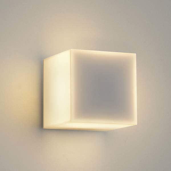 コイズミ arkia ブラケットライト AU47868L+AE47877E 埋め込みタイプ+コの字遮光セード 『ブラケットライト エクステリア照明 ライト』