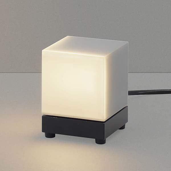 コイズミ arkia ブラケットライト AU47871L+AE47878E スタンドタイプ+三方遮光セード 『ブラケットライト エクステリア照明 ライト』