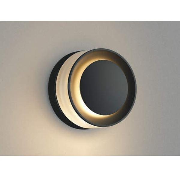 コイズミ E.L.H. ポーチ灯 AU43722L 『ブラケットライト エクステリア照明 ライト』 ダークグレーメタリック