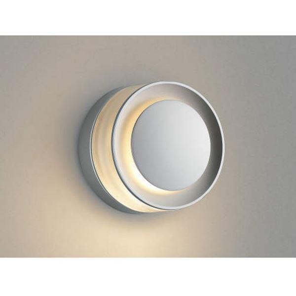 コイズミ E.L.H. ポーチ灯 AU43721L 『ブラケットライト エクステリア照明 ライト』 シルバーメタリック