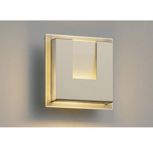 コイズミ E.L.H. ポーチ灯 AU38538L 『ブラケットライト エクステリア照明 ライト』 ウォームシルバー