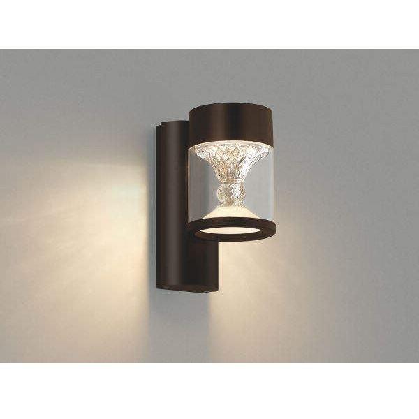 コイズミ ツインルックス ポーチ灯 AU45496L クラシカルタイプ 『ブラケットライト エクステリア照明 ライト』 ブラウン