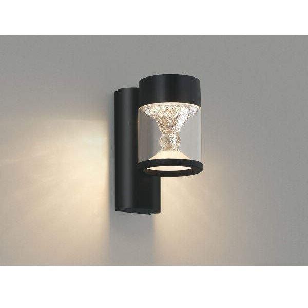 コイズミ ツインルックス ポーチ灯 AU45497L クラシカルタイプ 『ブラケットライト エクステリア照明 ライト』 黒色