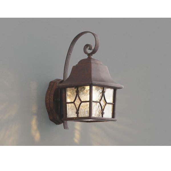 コイズミ ポーチ灯 AU42405L 『ブラケットライト エクステリア照明 ライト』 アンティーク色