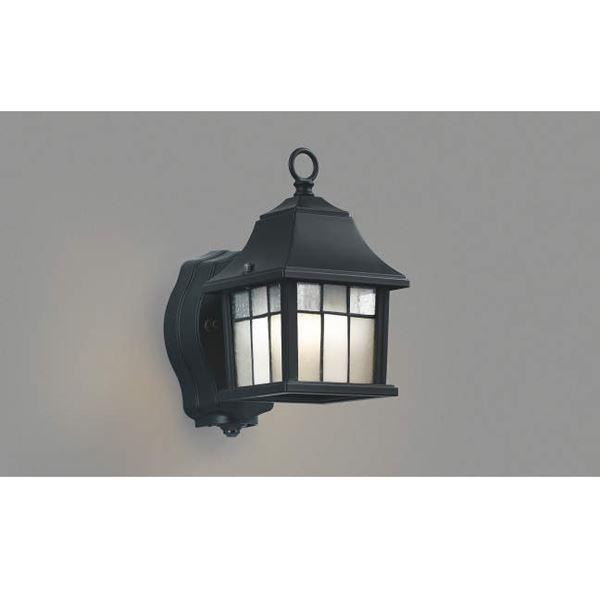 コイズミ ポーチ灯 タイマー付ON/OFFタイプ AUE646324 『ブラケットライト エクステリア照明 ライト』 黒色