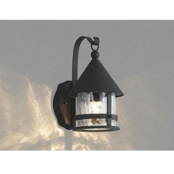 コイズミ ポーチ灯 AU42411L 『ブラケットライト エクステリア照明 ライト』 黒色