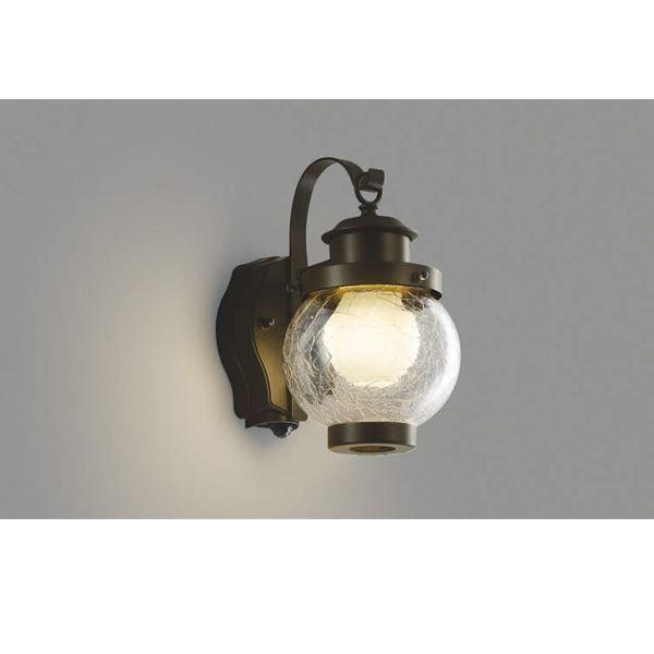 コイズミ ポーチ灯 タイマー付ON/OFFタイプ AUE647096 人感センサ付 『ブラケットライト エクステリア照明 ライト』