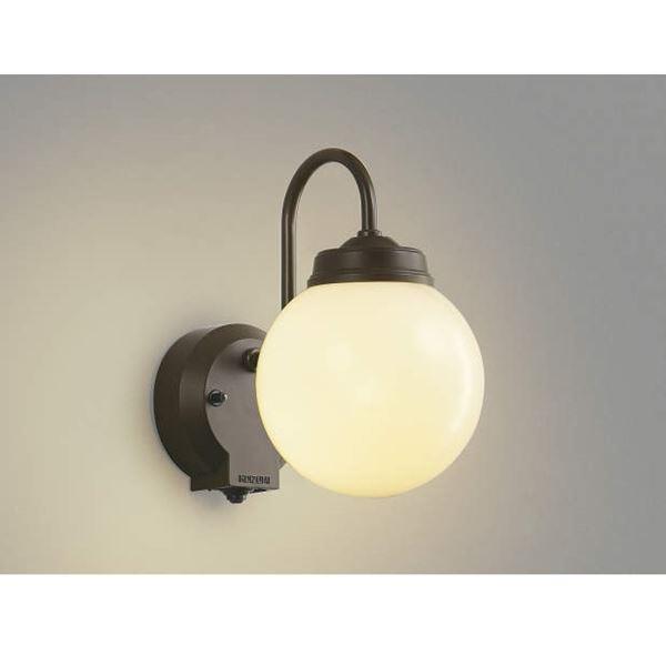 コイズミ ポーチ灯 タイマー付ON/OFFタイプ AU40253L 人感センサ付 『ブラケットライト エクステリア照明 ライト』