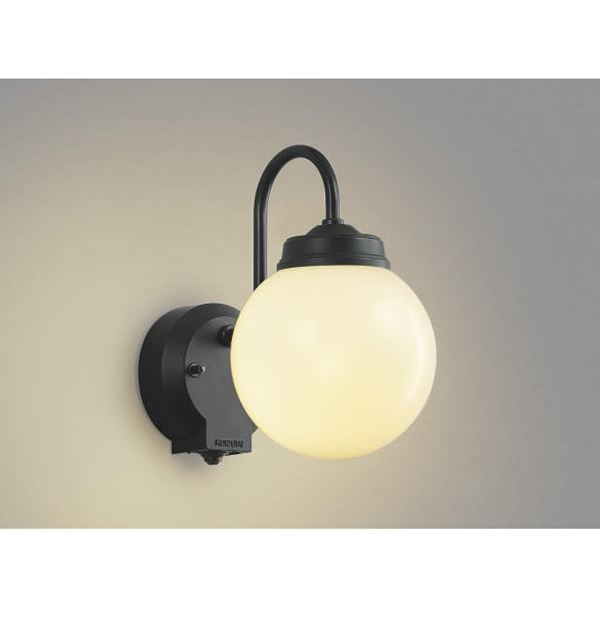 コイズミ ポーチ灯 タイマー付ON/OFFタイプ AU40251L 人感センサ付 『ブラケットライト エクステリア照明 ライト』