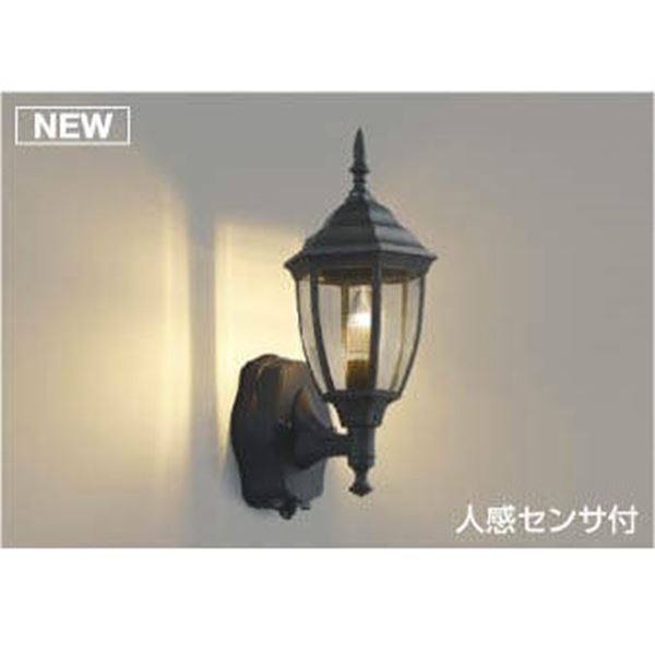 コイズミ ポーチ灯 タイマー付ON/OFFタイプ AU47340L 人感センサ付 『ブラケットライト エクステリア照明 ライト』