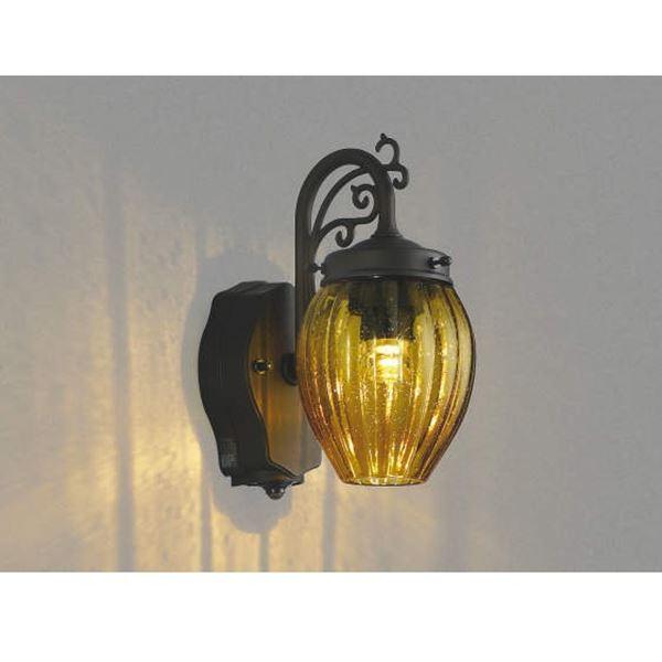 コイズミ ポーチ灯 マルチタイプ AU42399L 『ブラケットライト エクステリア照明 ライト』 アンバー色