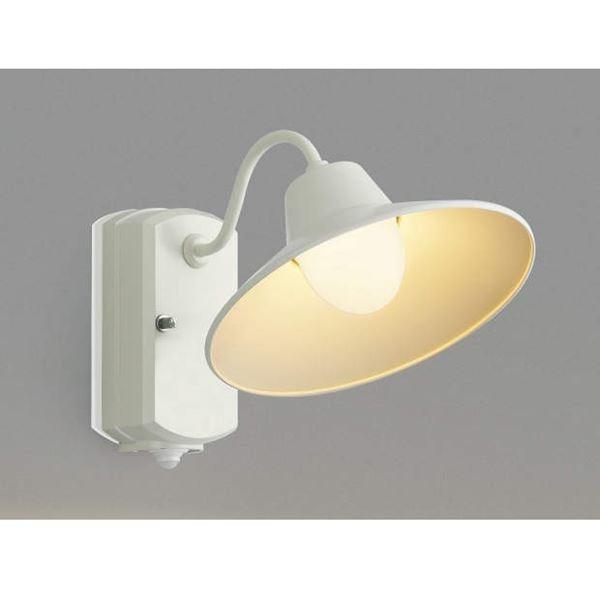 コイズミ ポーチ灯 マルチタイプ AU42251L 人感センサ付 『ブラケットライト エクステリア照明 ライト』 オフホワイト