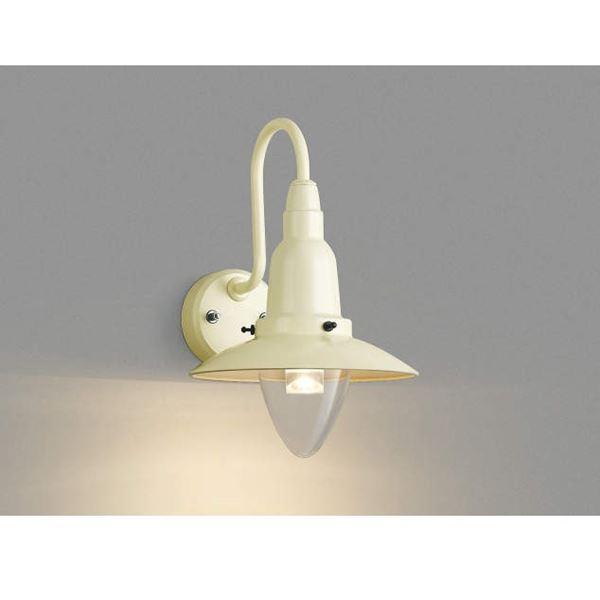 コイズミ ポーチ灯 AU42217L 『ブラケットライト エクステリア照明 ライト』 ヴィンテージホワイト