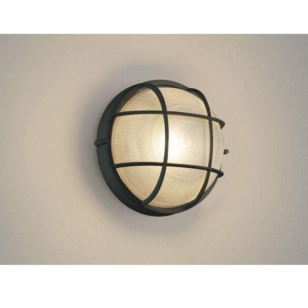 コイズミ ポーチ灯 AU45053L 『ブラケットライト エクステリア照明 ライト』 黒色