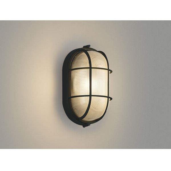 コイズミ ポーチ灯 AU45055L 『ブラケットライト エクステリア照明 ライト』 黒色