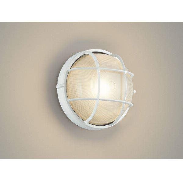 コイズミ ポーチ灯 AU45052L 『ブラケットライト エクステリア照明 ライト』 白色