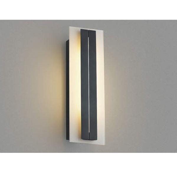 コイズミ ポーチ灯 AU42333L 『ブラケットライト エクステリア照明 ライト』 ダークグレーメタリック