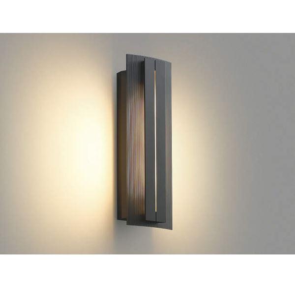 コイズミ ポーチ灯 AU40244L 『ブラケットライト エクステリア照明 ライト』 ダークグレーメタリック