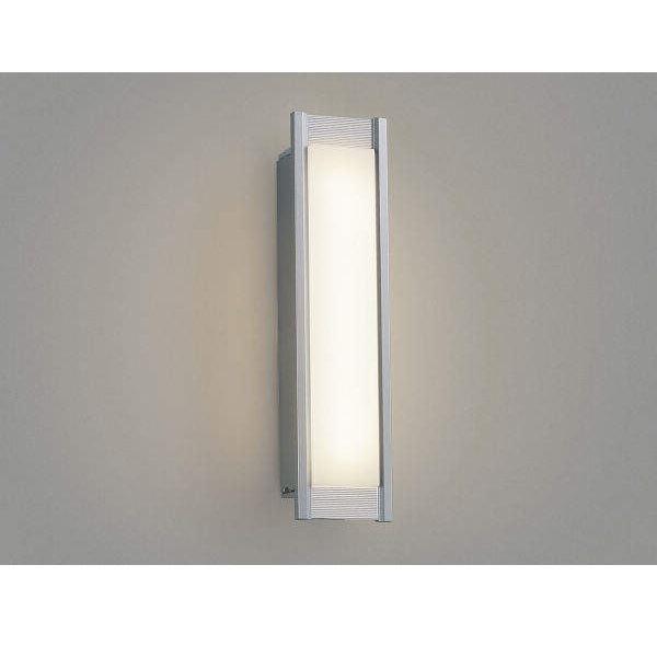 コイズミ ポーチ灯 AU45234L 『ブラケットライト エクステリア照明 ライト』 シルバーメタリック