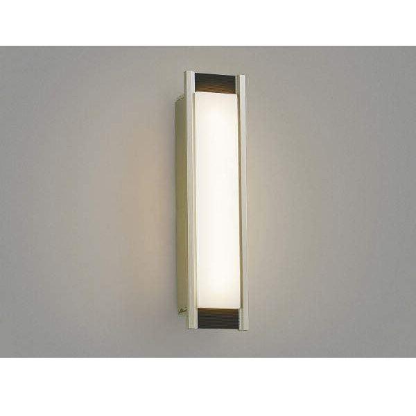 コイズミ ポーチ灯 AU45233L 『ブラケットライト エクステリア照明 ライト』 ウォームシルバー/シックブラウン